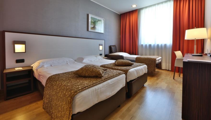 Camere hotel business a milano nord best western falck for Garage programma progetti gratuiti